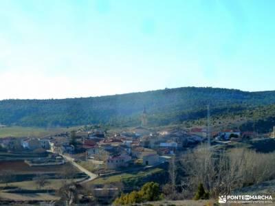 Rambla del Avellano-Arbeteta; bosques magicos que hacer en la sierra de madrid monasterio santa mari